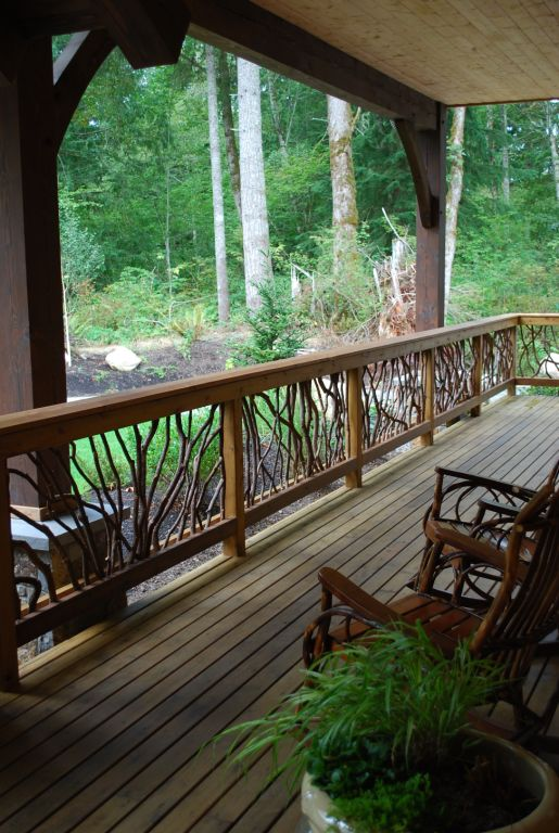 Laurel-handrail-timber-frame